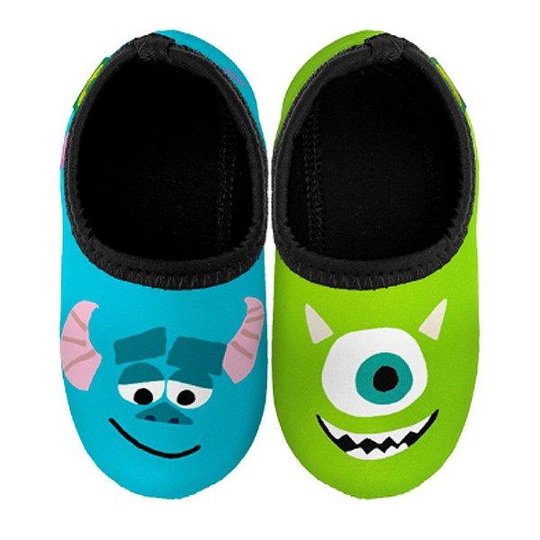 Ufrog Infantil Sapatilha Neoprene Monstros S.A  Disney Antiderrapante