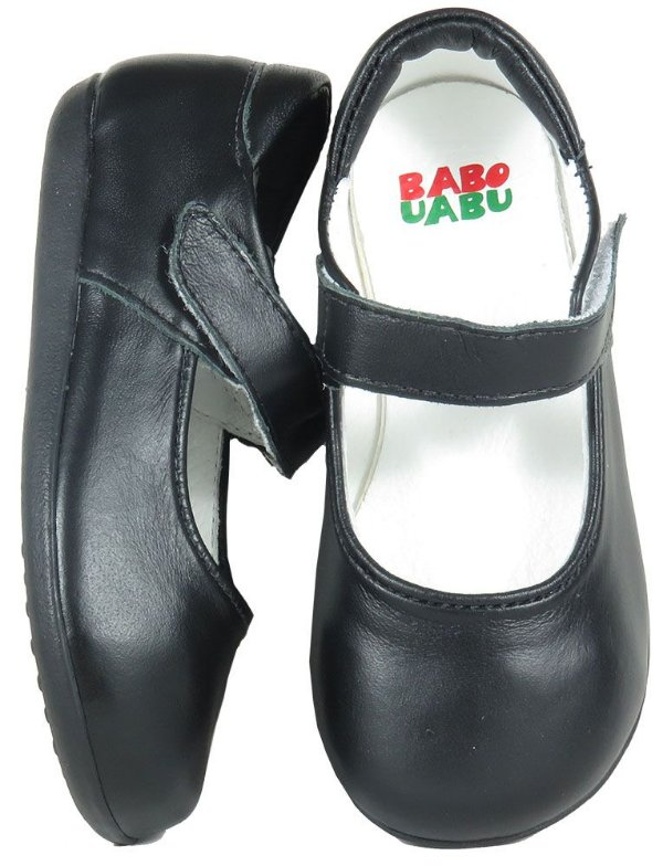 Sapato Infantil Preto Mary Jane - Babo Uabu