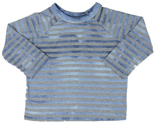camiseta infantil Menino Que te encante cabana azul