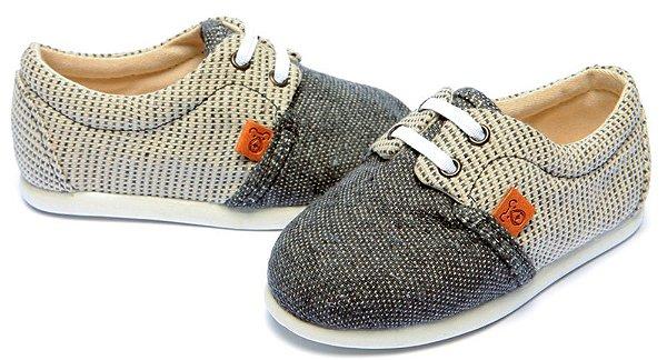 Sapato infantil slider rustic grey