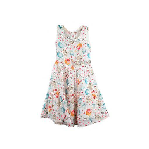 Vestido Infantil CasaBonecas tema país das maravilhas