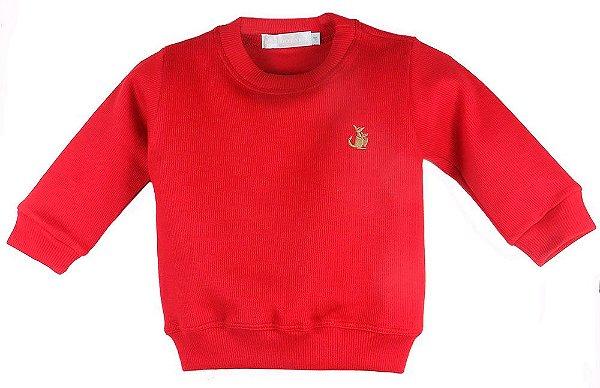 Sueter Infantil Menino Empório Baby vermelha -