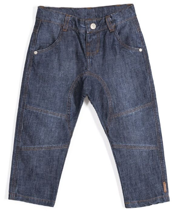 Calça infantil Up Baby jeans estilo saruel