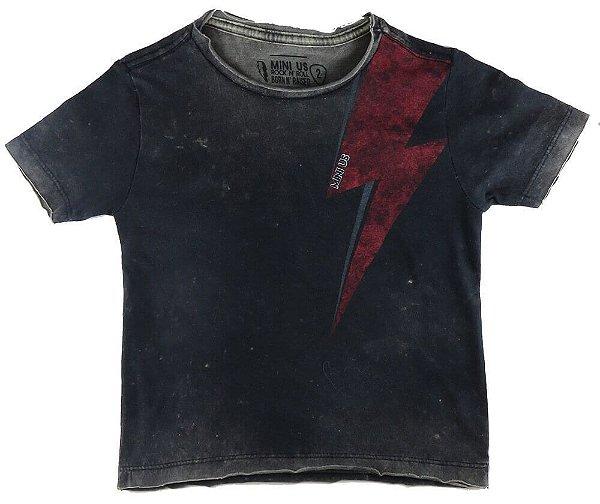 Camiseta Infantil Menino Mini US Rock Thunder -