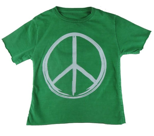 Camiseta Infantil Menino Mini US Peace and Love