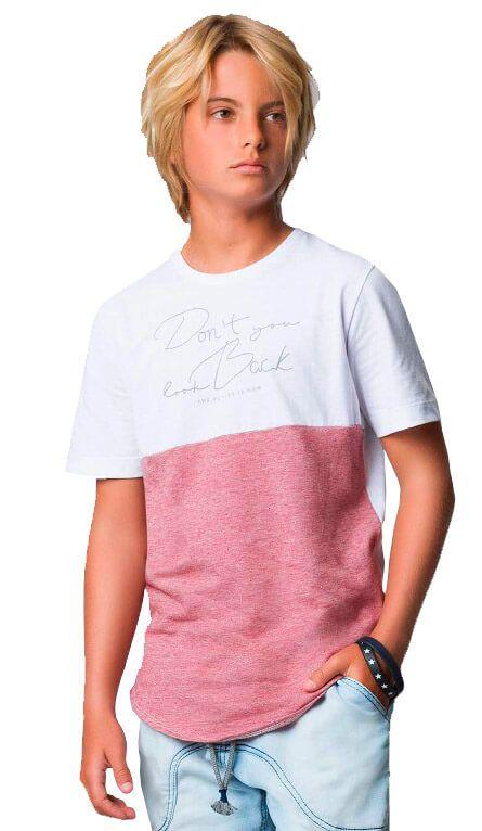 Camiseta Infantil Johnny Fox longer don´t you look back