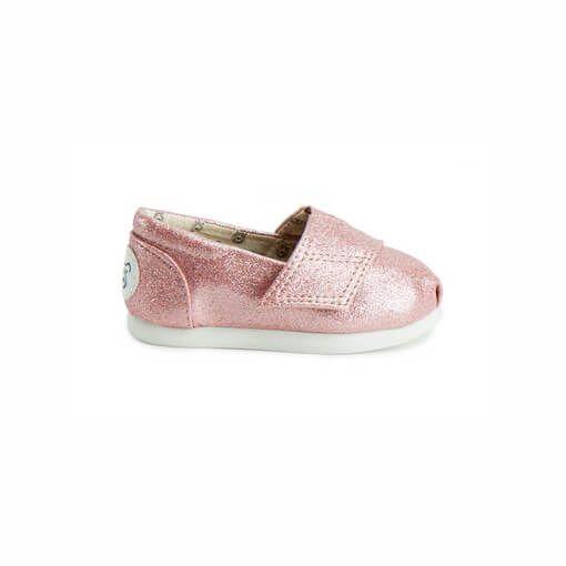 Alpargata Infantil Perky Pink Glitter