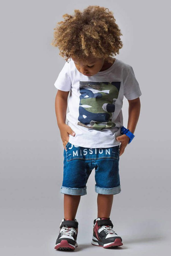 Conjunto infantil Johnny Fox Mission jogging