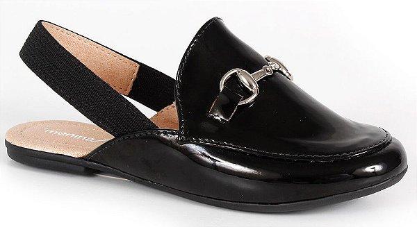 fb1a3516d Sapato social infantil mocassim mule preto - Kids na Net - A sua ...