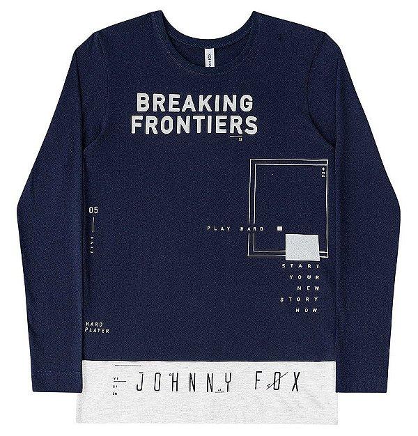 Camiseta Infantil Johnny Fox Longer Breaking Frontiers