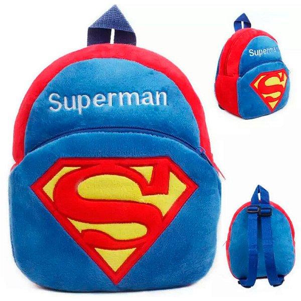 Mochila Superman Acessórios Kids na net Mochila Superman