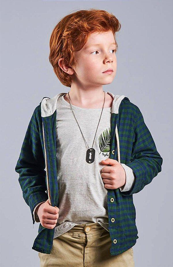 589cb855d4 Camisa Xadrez Infantil Masculina Verde - Kids na Net - A sua Loja ...