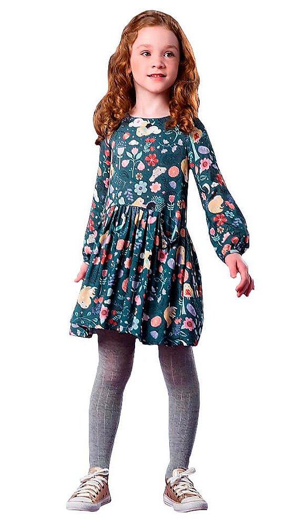 Vestido Infantil Feminino que te encante Lucy