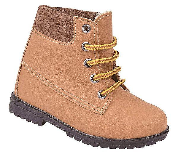 Bota infantil masculino Pesh Yellor Boot Mostarda