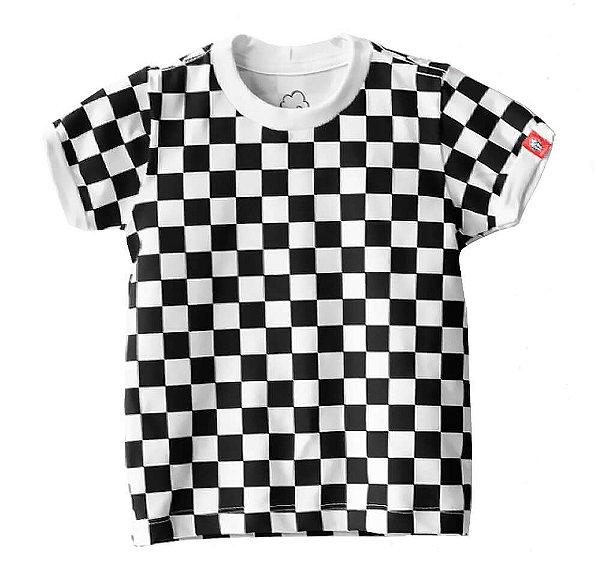 Camiseta infantil Baby Beh Urban Tabuleiro