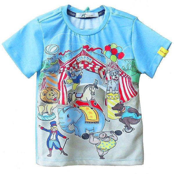 Camiseta infantil Oliver Jr. Tema Circo