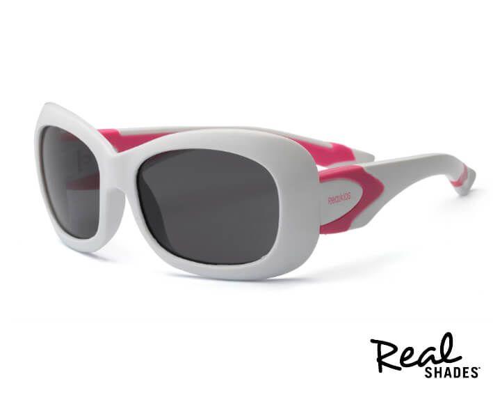 Óculos De Sol Breeze Real Shades Branco e rosa