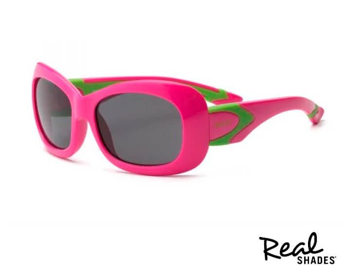 Óculos De Sol Breeze Real Shades Rosa e verde