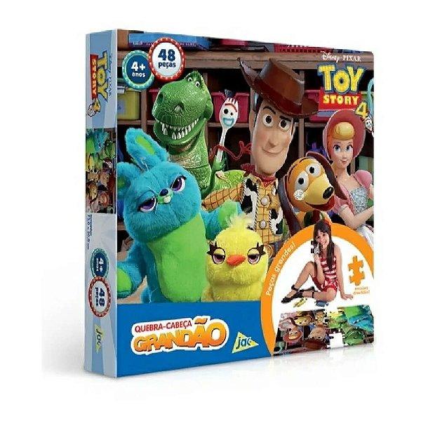 Quebra-cabeça Grandão 48 Peças Disney Toy Story 4 Jak
