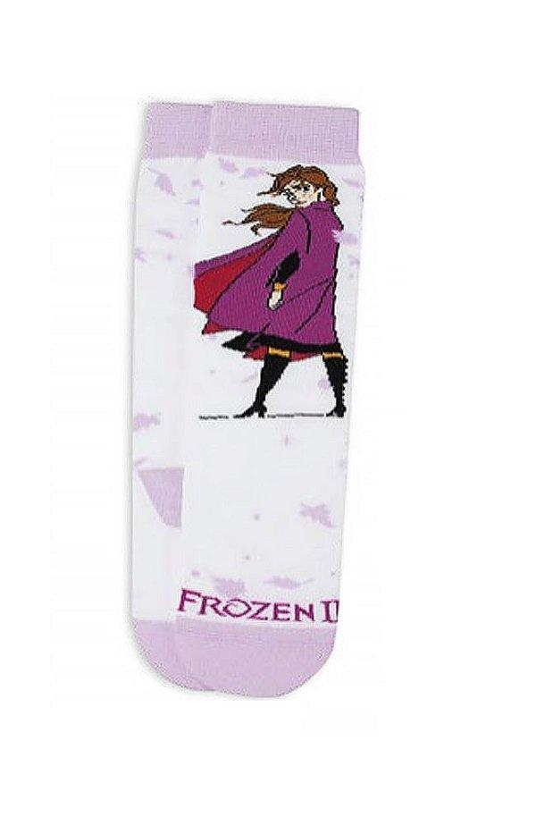 Meia Cano Alto Infantil Frozen II Anna Meia Lupo