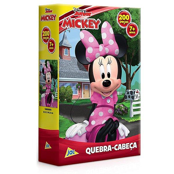 Quebra-cabeça 200 Peças Minie Mouse Disney Toyster Jak
