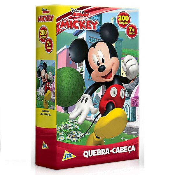 Quebra-cabeça 200 Peças Mickey Mouse Disney Toyster Jak