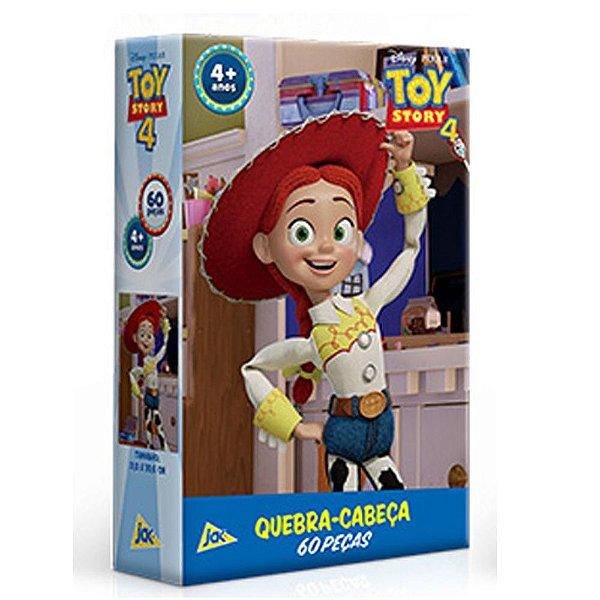 Quebra-cabeça 60 Peças Toy Story 4 Jessie Jak Toyster