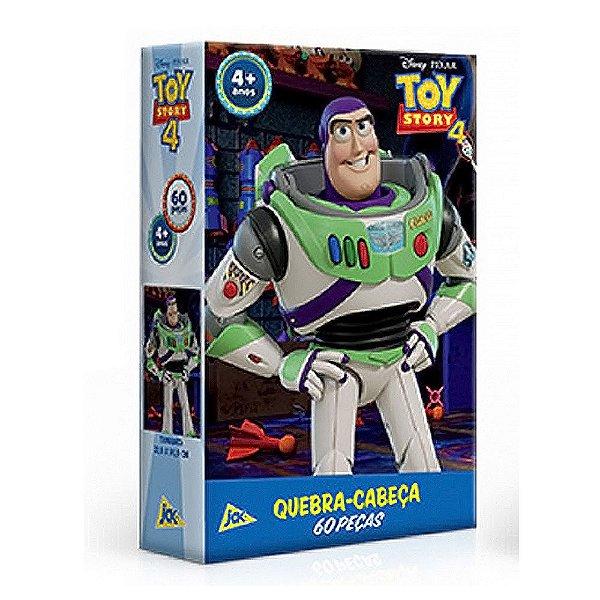 Quebra-cabeça 60 Peças Toy Story 4 Buzz Jak Toyster