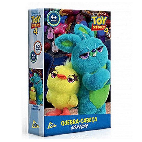 Quebra-cabeça 60 Peças Toy Story 4 Ducky Jak Toyster