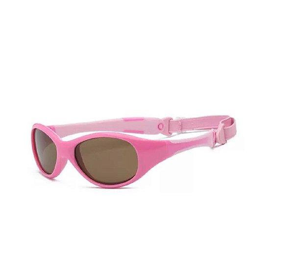 Óculos De Sol Explorer Rosa Real Shades