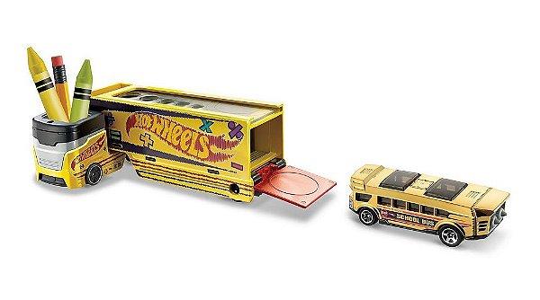Hot Wheels Caminhão de Transporte Hw Pencil Pusher
