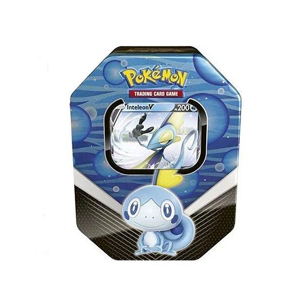 Lata Pokemon Tcg Parceiros De Galar Sobble Com Inteleon V