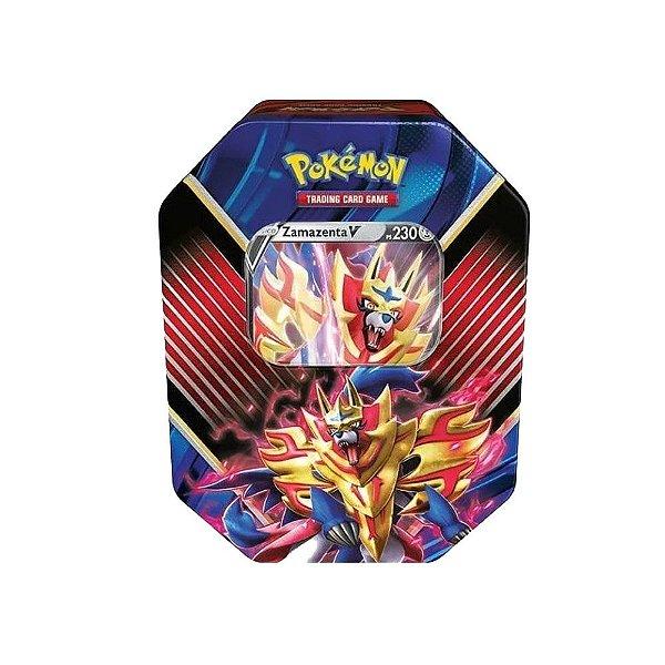Lata Pokemon Lendas De Galar Zamazenta V