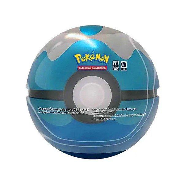Lata Pokemon Pokebola Dive Ball