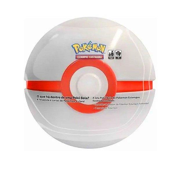 Lata Pokemon Pokebola Bola White