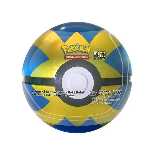 Lata Pokemon Pokebola Quick Ball