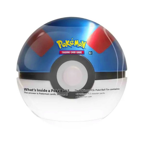 Lata Pokemon Pokebola Super Ball
