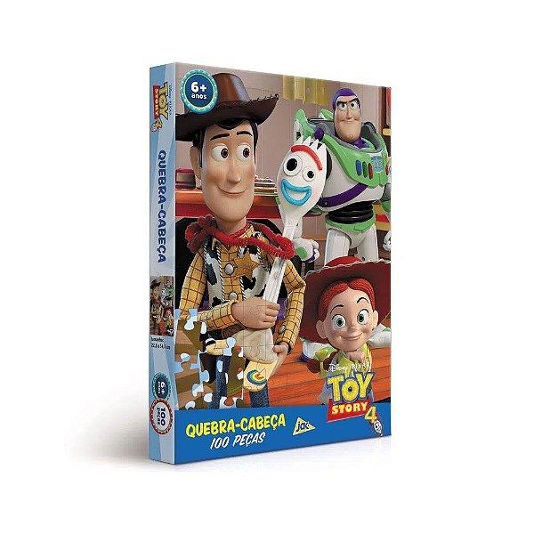 Quebra Cabeça Encapado 100 Peças Toy Story 4 Toyster