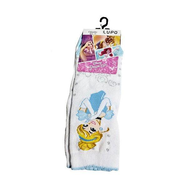 Meia Disney KF Princesas Cinderela Lupo
