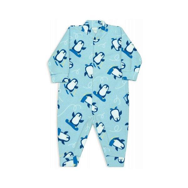 Macacão Bebês  dedeka soft Pinguins