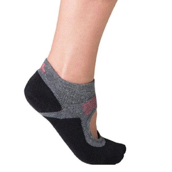 Meia sapatilha antiderrapante meia pilates lupo 33A36