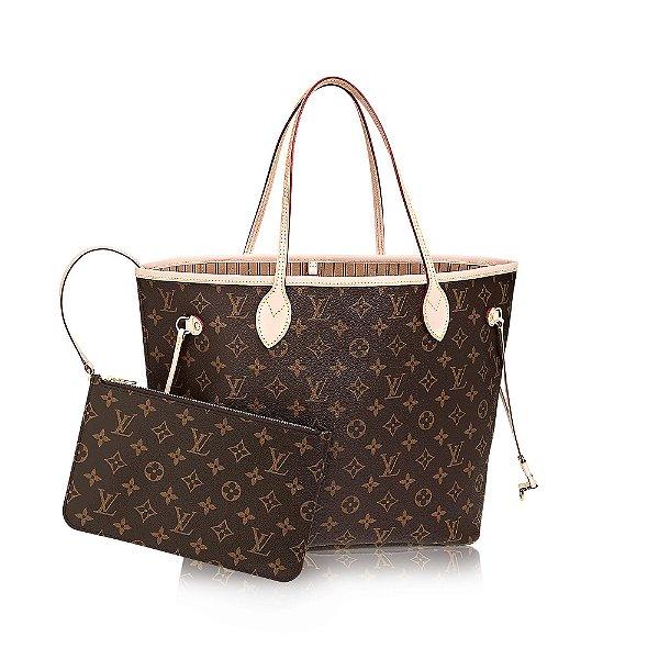 cc7f95d5b Bolsa Louis Vuitton Neverfull Monograma, bolsas de luxo com os ...