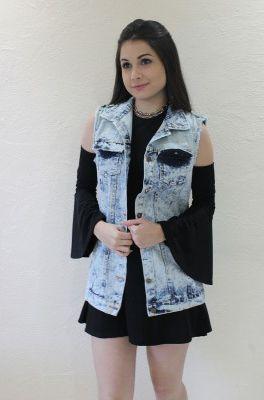 Colete Jeans Boyfriend