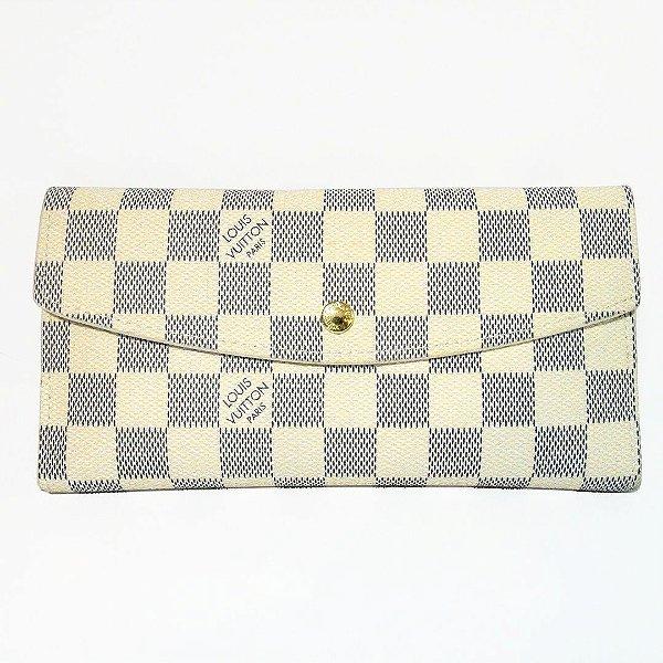 Carteira Feminina Louis Vuitton Emilie Azur 2 Em 1