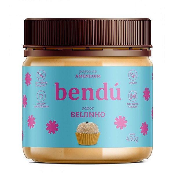 Pasta de Amendoim Beijinho Vegano (450g) - Bendú