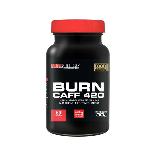 BURN CAFF 420MG (60 cap.)