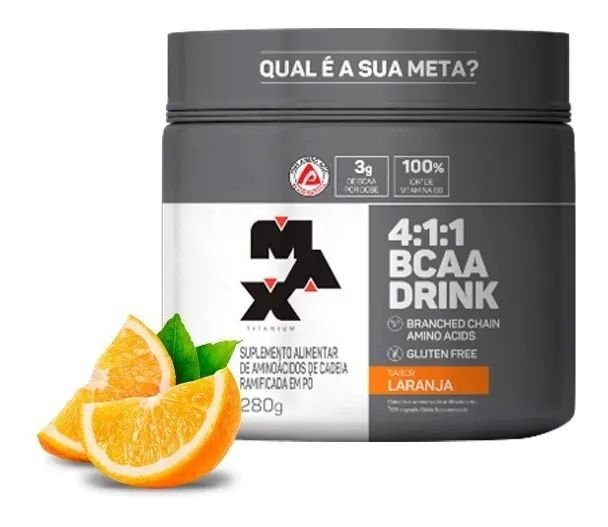 4:1:1 BCAA Drink (280g)- MAX TITANIUM