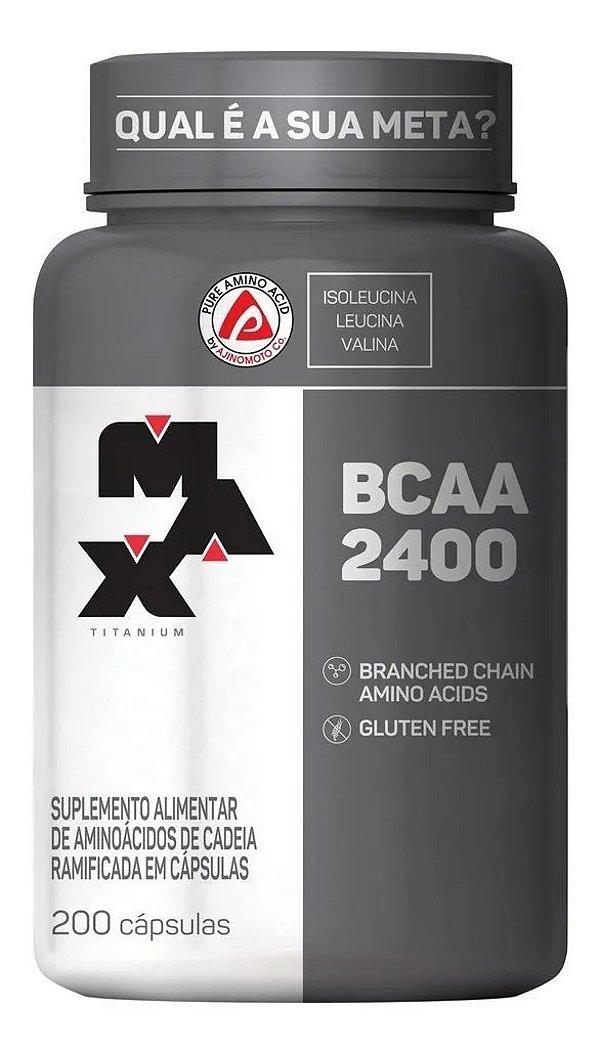 BCAA 2400 (200 caps.) MAX TITANIUM