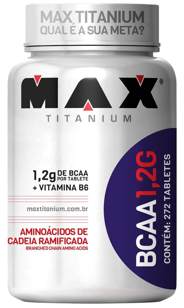BCAA 1,2G (272 Tabs.) MAX TITANIUM