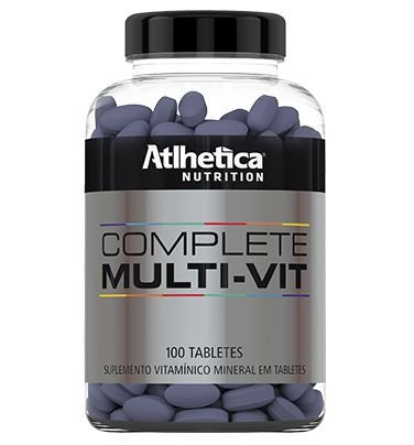 COMPLETE MULT-VIT (100 Tabs) - Atlhetica
